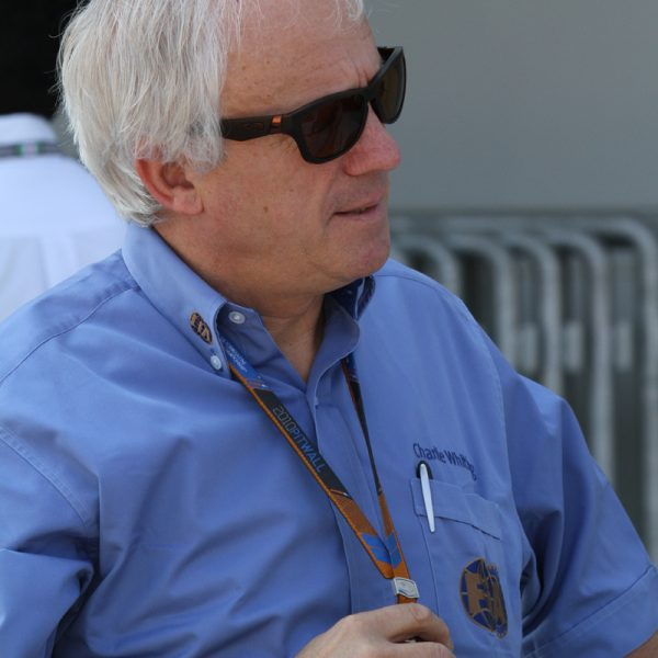 Charlie Whiting. Photo: Morio @ Wikimedia Commons.