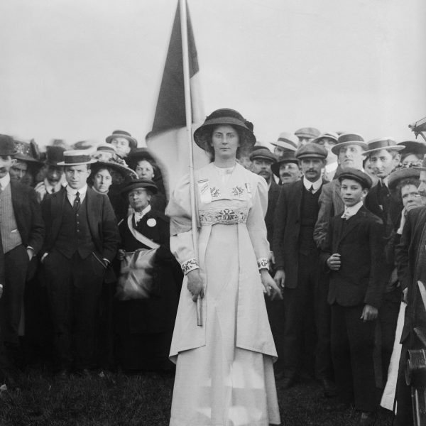 Photo: Charlotte Marsh in Hyde Park @ People's History Museum