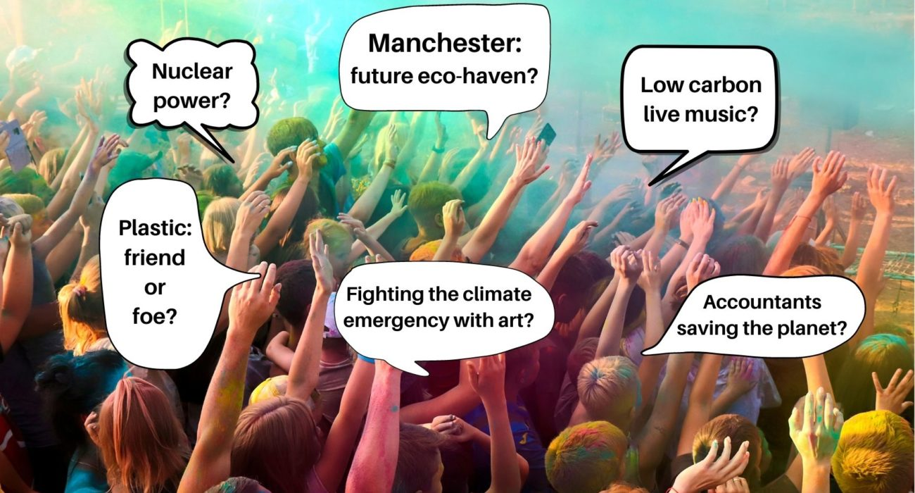 Climate Festival Infographic @Kerry Mack