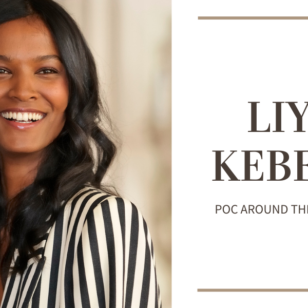 Column Header with photo of Liya Kebede