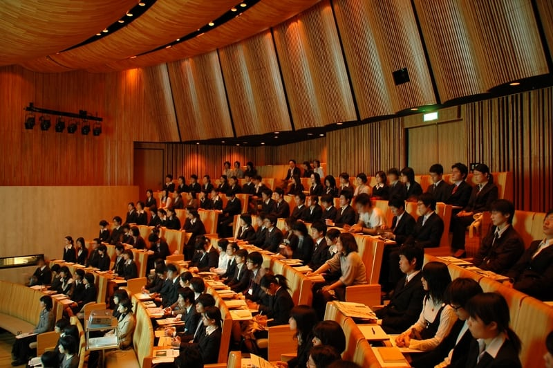 Japanese university departments face unprecedented cuts and closures. Image source: Wikimedia Commons