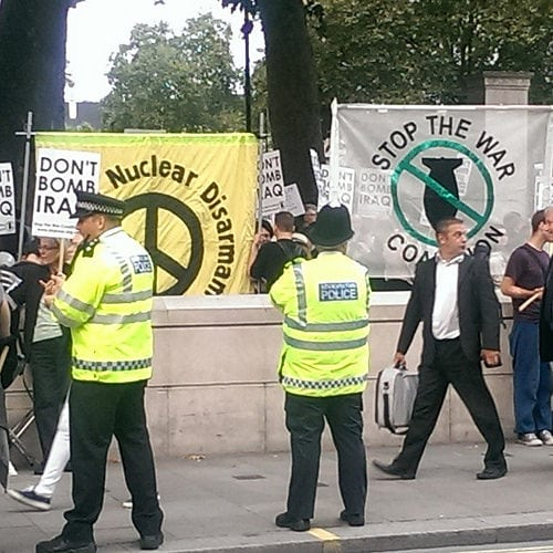 CND and Stop the War Coalition march. Photo: See Lei @Flickr.