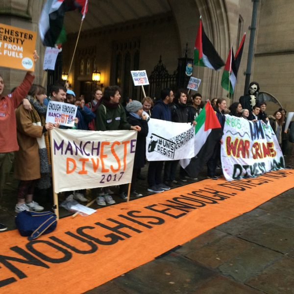 Photo: Fossil Free University of Manchester