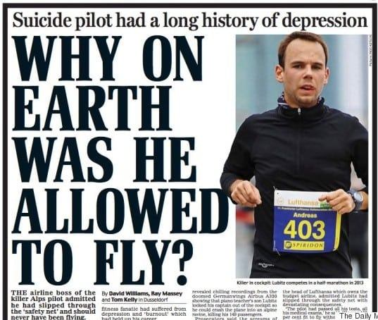 Irresponsible media responses such as this serve to perpetuate hysteria, not clarity. Photo: The Daily Mail