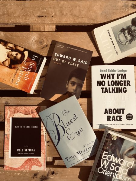 Selection of books to decolonise your bookshelf