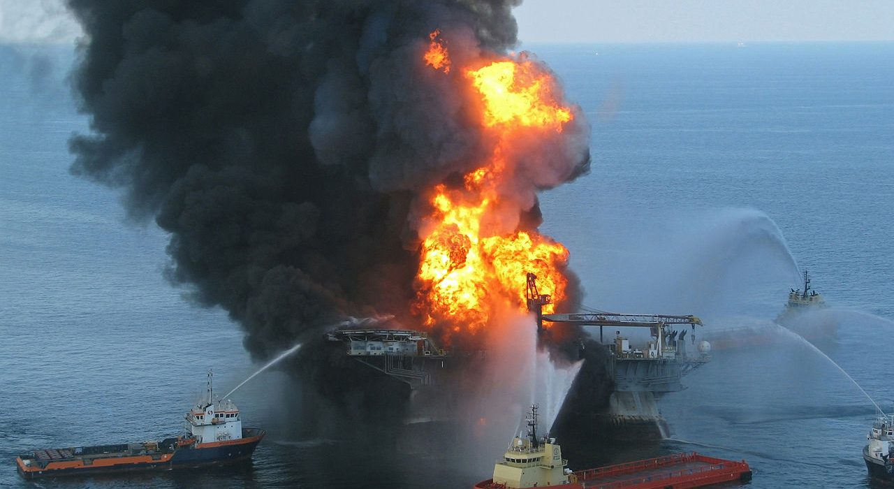 The Deepwater Horizon crisis that occured in 2010, which cost the university £2.28 million. Photo: ideum @Flickr