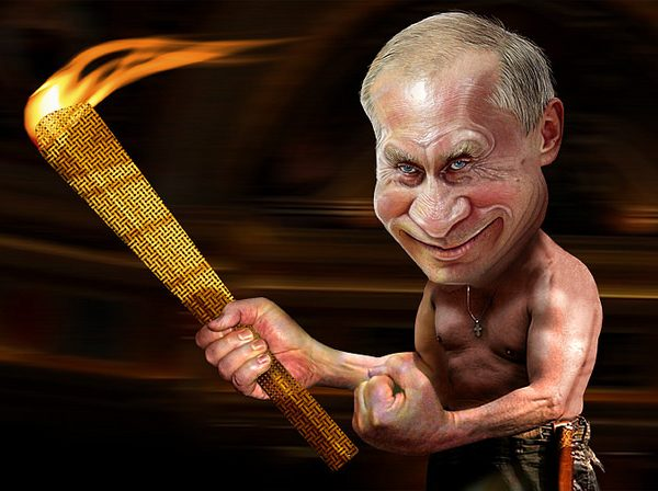 Is the West able to combat Putin's aggression? Photo: DonkeyHotey @Flickr