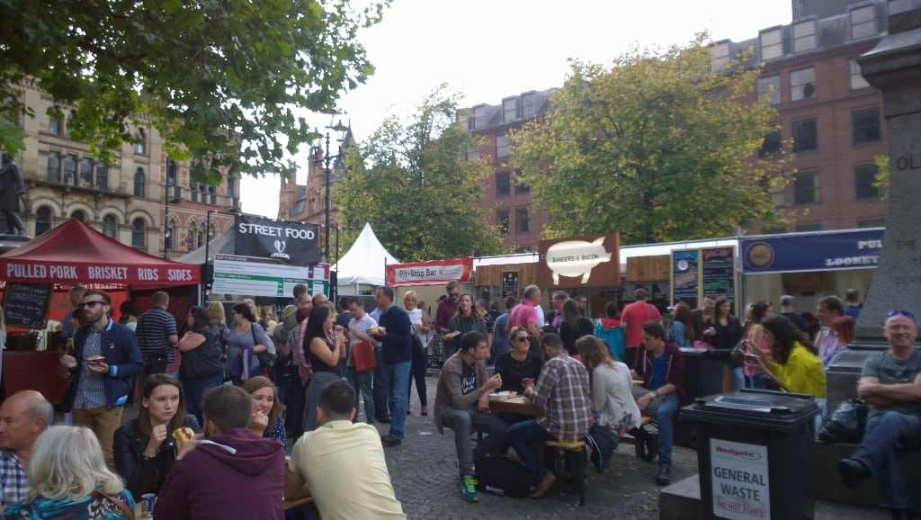 Manchester Food and Drink Festival. Photo: James Jackman