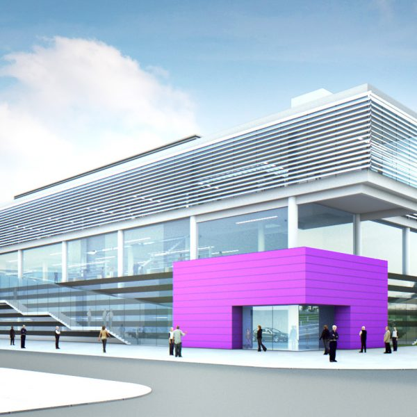 New GEIC centre. Photo: The University of Manchester