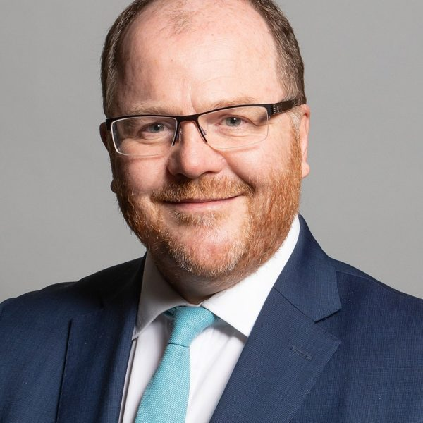 The official parliamentary portrait of new science minister, George Freeman