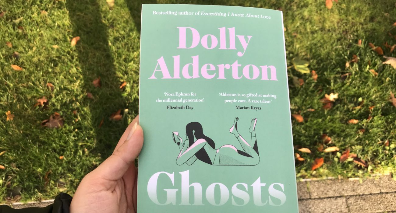 Photo of Ghosts by Dolly Alderton - a novel about ghosting