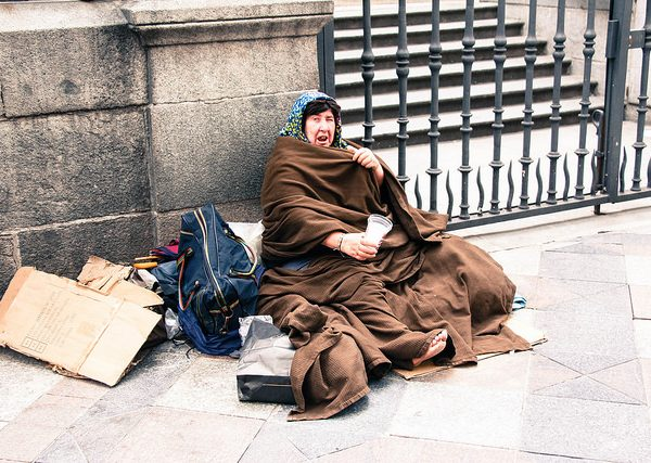 Photo: Mussi Katz@Flickr View from the street Burnham homelessness
