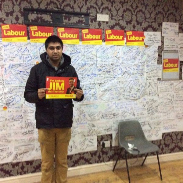 Former Manchester Labour Students co-chair Mo Ahmed. Photo: Facebook