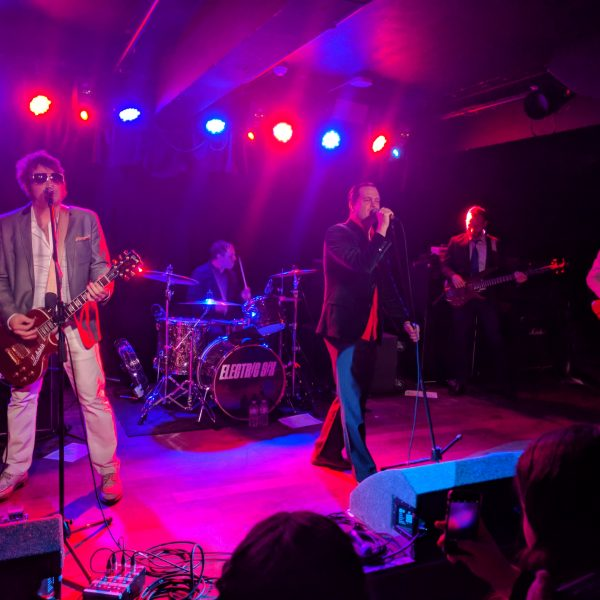 Electric Six at Club Academy. Photo: Callum Lunn
