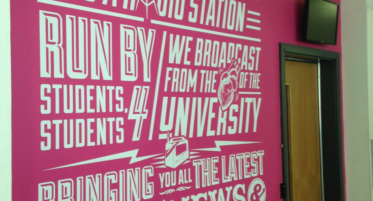 """""""The heat of the studio was a real tester of our endurance… it got pretty smelly in there."""" Photo: The Mancunion"""