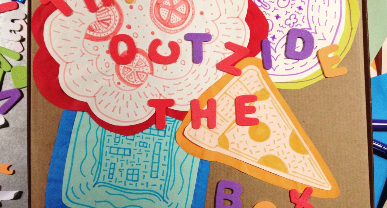 Design your own pizza box competition. PLY. Photo: The Mancunion