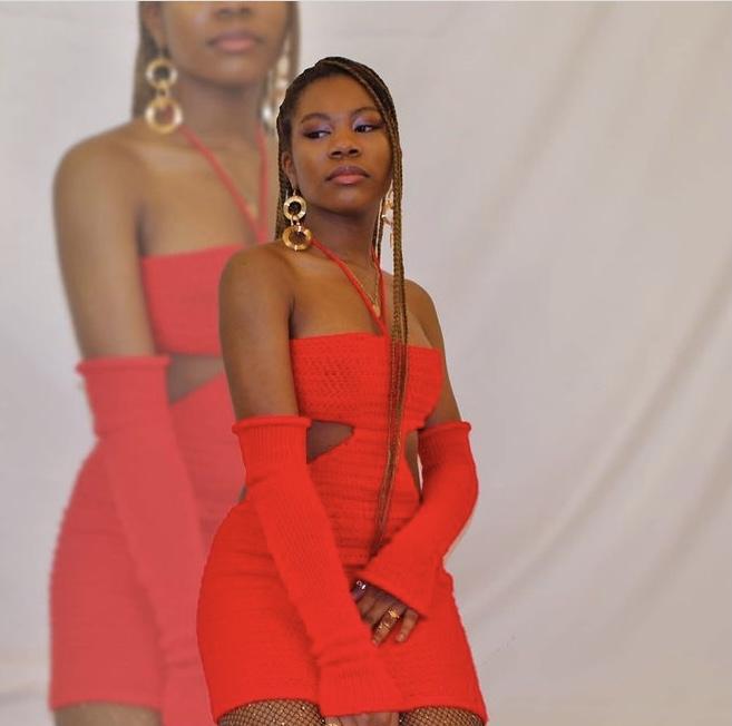 Didarastudio red knitted dress