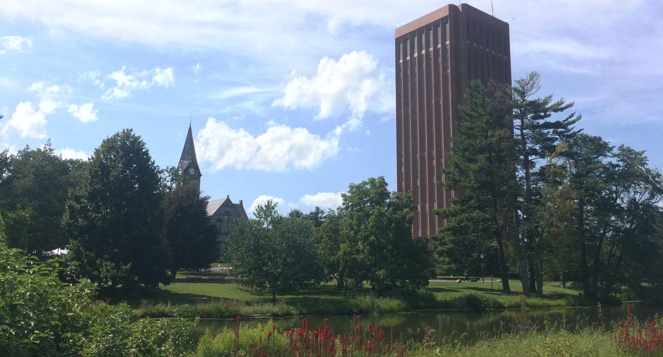 UMass Amherst Campus photo courtesy of Charlotte Hunter-Didrichsen