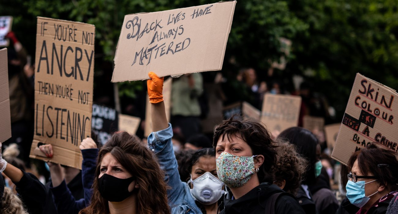 Manchester BLM protests