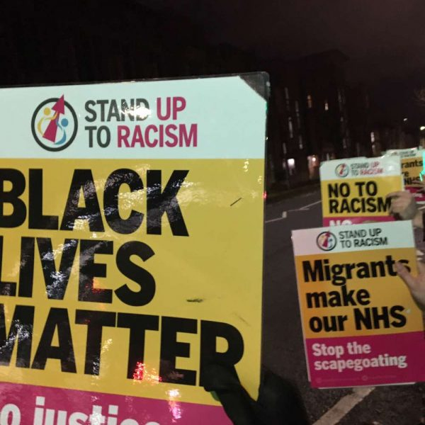 Stand up to racism posters