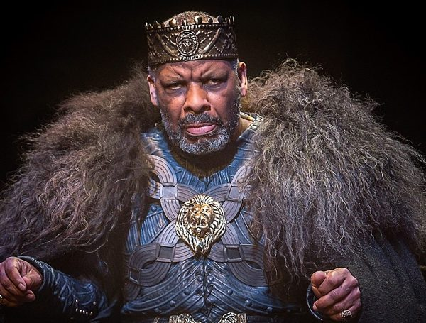 Don Warrington as King Lear Photo: Jonathan Keenan