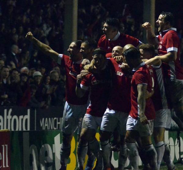 Salford City 2-0 Notts County Credit: James Lobley