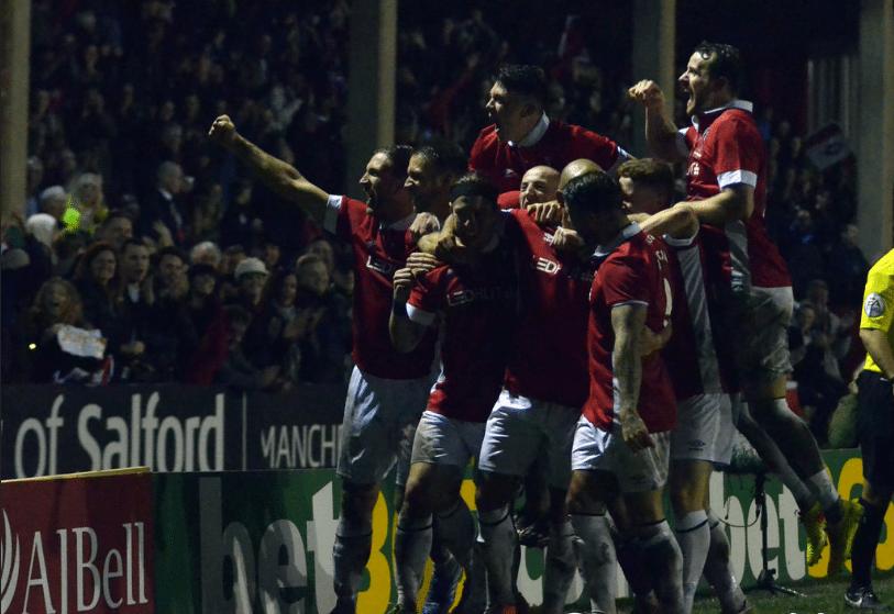 Salford City 2-0 Notts County Credit: James Lobley