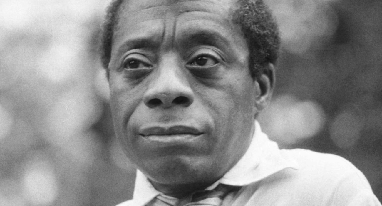 Photo: James Baldwin by Allan Warren @ Wikimedia Commons