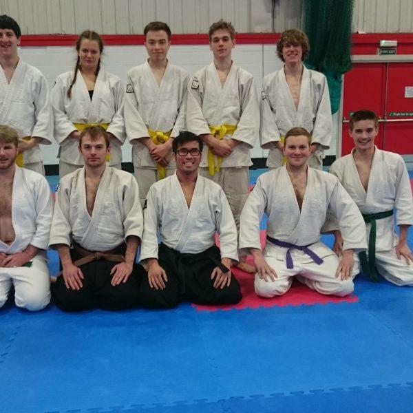 UoM Jiu-Jitsu club. Photo: Ryan Smith