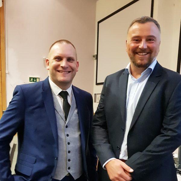 Photo: Jo Neill (Left: Oliver Sutcliffe, right: Andy Costello