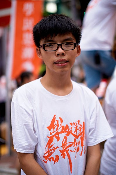Joshua Wong - a new face for conflict through engagement. Photo: Wikimedia Commons