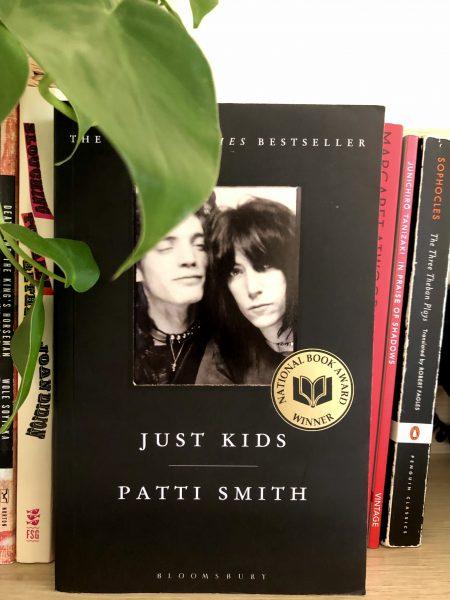 Photo of Just Kids book by Patti Smith Photo: Bana Mustafa