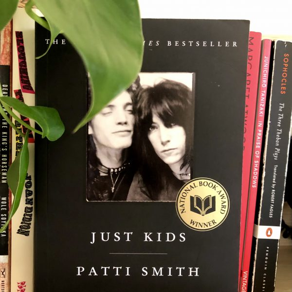 Photo of Just Kids book by Patti Smith Photo: Bana Mustafa