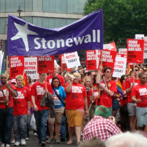 The Stonewall group works towards challenging homophobia, transphobia and biphobia in the workplace. (Photo: Fae @Wikimedia Commons)