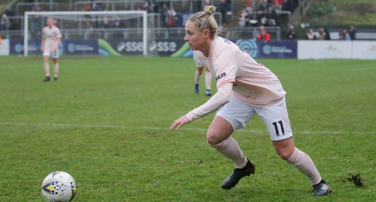 Leah Galton on the ball