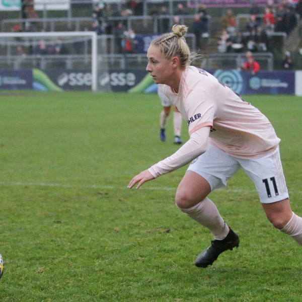 Leah Galton on the ball