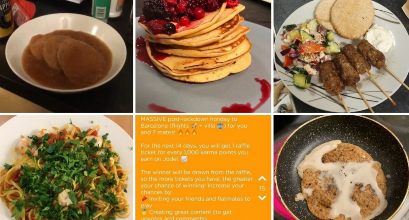 Image credit: Oak House Meal ratings @ Instagram