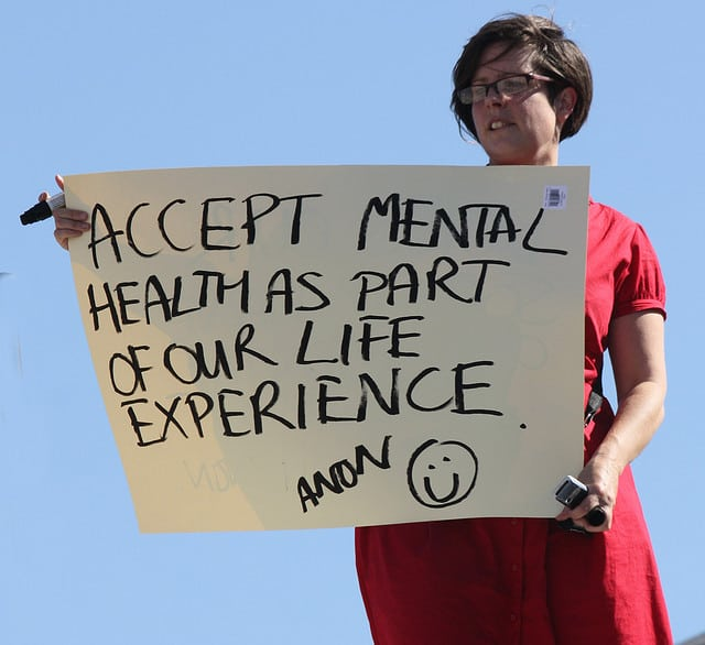 The familiarity of referring to mental illness only continues to defamiliarise its real-world effects. Photo: FeggyArt @ Flickr
