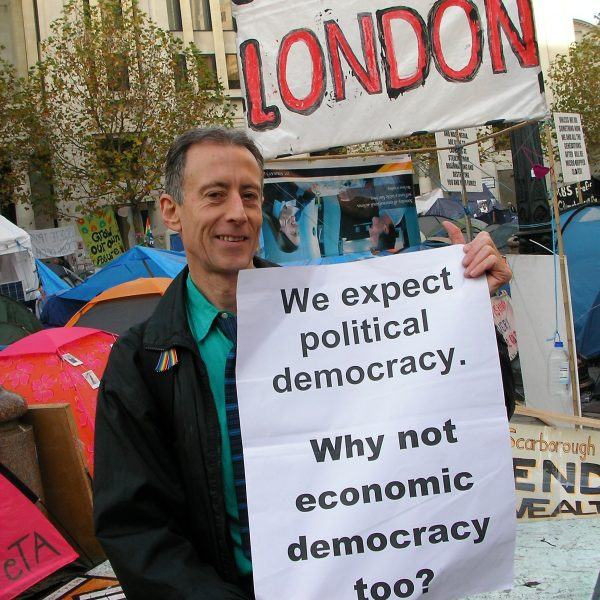 We expect political democracy. Why not economic democracy too? Photo: Peter Tatchell
