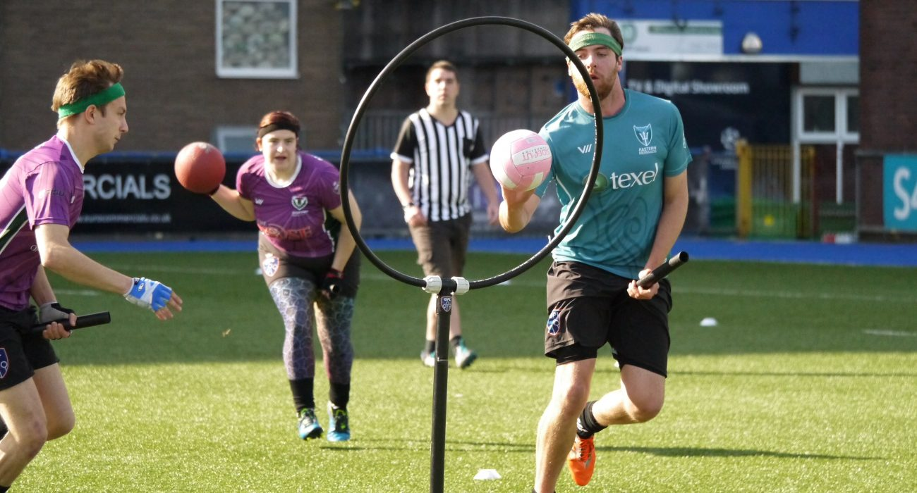 Photo: Jessica Cornelius @ Quidditch Premier League.