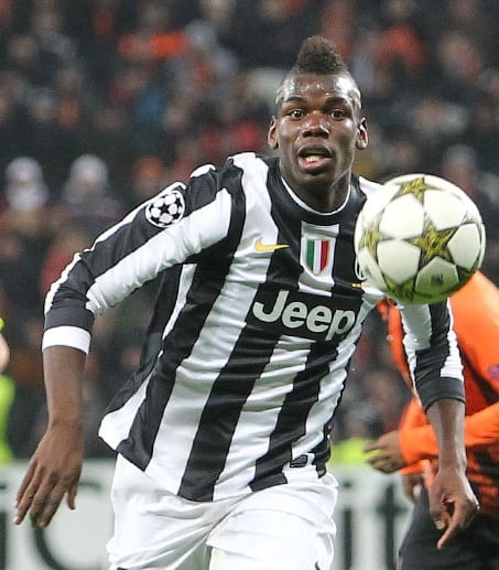 Photo: Pogba at Juventus @WikimediaCommons