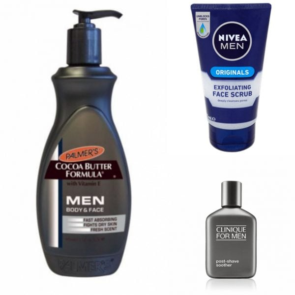 Male grooming products. Photo: Mancunion Fashion and Beauty