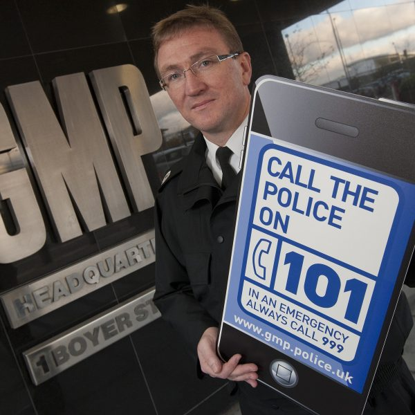 Greater Manchester Police have launched a new phone number '101' for non-emergency calls.