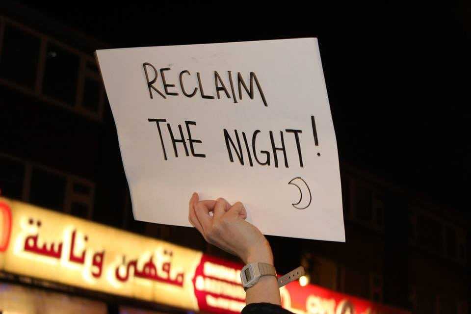 The largest Reclaim the Night saw 2000 protesters join together to fill Manchester's streets with noise. Photo: The Mancunion