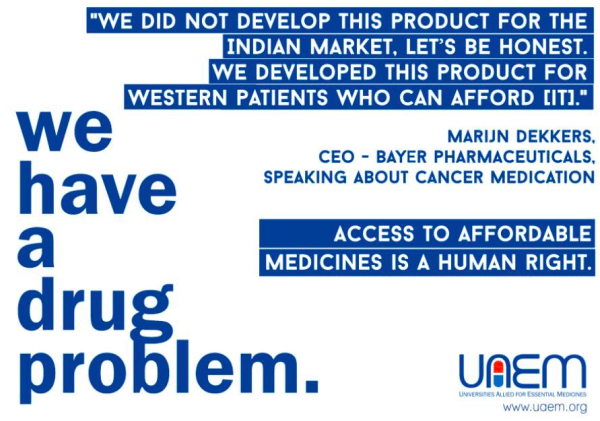 Photo: Universities Allied for Essential Medicines.