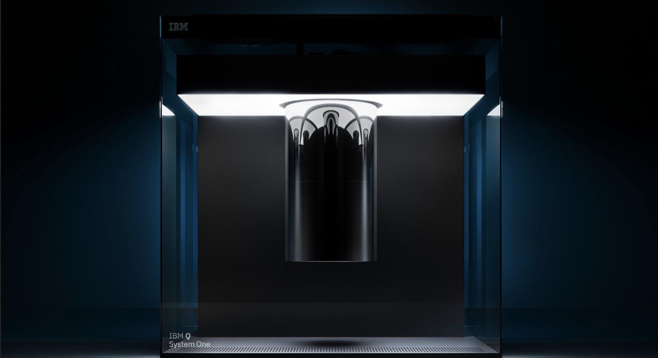 Photo: IBM Q System One @ Flickr