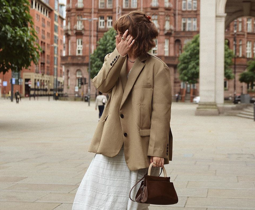 Photo of Alice Catherine on the streets of Manchester