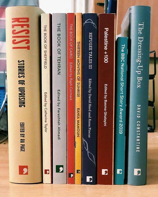 Photo of Comma Press titles