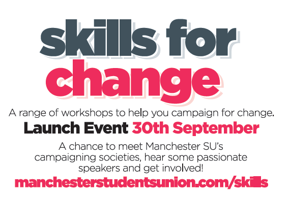 'Skills for Change' launches Tuesday 30th September.