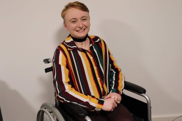Syd King, Chair of the Disabled Students Society